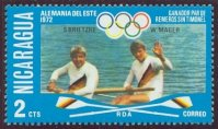 stamp nca 1976 july og montreal mi 1949 brietzke mager gdr olympic champions 2 munich 1972