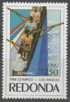 Stamp REDONDA 1984 OG Los Angeles
