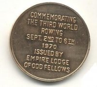 medal can 1970 wrc st. catherines inscription reverse