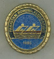Ashtray PAK Rowing Federation 1985 detail