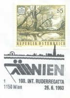 pm aut 1993 june 26th vienna 100th international rowing regatta