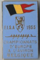 badge bel 1955 erc ghent