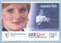 stamp ger 2013 sept. 16th lzv post leipzig annekatrin thiele