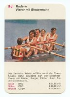 cc ger 1972 bs quartet og munich gold medal in the 4 event for ger