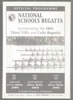 Program GBR 2004 National Schools Regatta