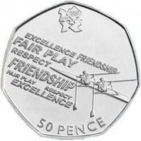coin gbr 2011 og london 2012 sports collection no. 19