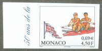 stamp mon 2000 june 23rd og sydney imperforated