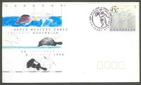 stationary i aus 1994 aug. 11th brisbane world masters games 29 different sports named on printed stamp jpg