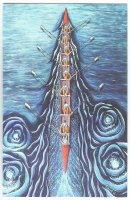 painting gbr tonia williams eight oars blue