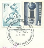 pm aut 1959 july 5th vienna 3 7th three country match ger yug aut