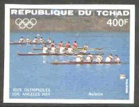 stamp cha 1984 march 1st og los angeles mi 1059 imperforated 4 race