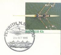 pm aus 1990 oct. 26th penrith single sculler 4 race