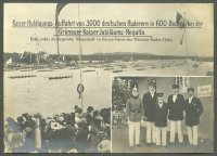 pc ger 1913 berlin gruenau regatta parade of boats paying homage to the kaiser