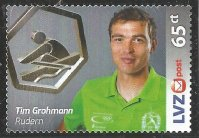 Stamp GER 2016 Aug. 25th LVZ POST Leipzig Tim Grohmann