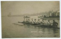 pc gbr 1909 oxford crew on the water
