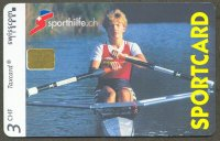 tc sui 2000 may schweizer sporthilfe sportcard no. 138 pia vogel world champion lw1x 1998 1999