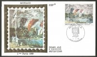 fdc mon 1989 sept. 7th alfred sisley painting molesey regatta