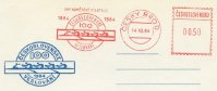 pm tch 1984 oct. 14th cesky brod red meter mark 100 years of rowing 1884 1984