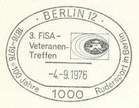 pm ger 1976 sept. 4th berlin 3rd fisa veterans meeting 100 years rowing in berlin