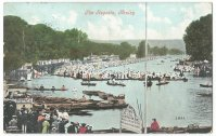 PC GBR Henley Regatta PU 1908 July 30th day before the Olympic rowing finals