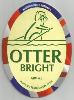 Beer mat GBR OTTER Bright