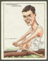 cc gbr 1928 churchman s cigarettes h.a. barry professional world champion 1927