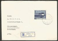 registered letter yug 1966 wrc bled