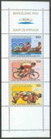 stamp com 1988 apr. 18th og barcelona three values mi 826 a 828 a se tenant