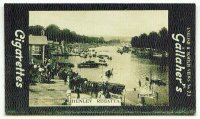 cc gbr 1910 gallahers cigarettes english  sotch views no. 73 - henley regatta