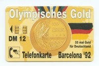 tc ger o 498 02.93 20000 33 gold medals for ger at the og barcelona 1992 front