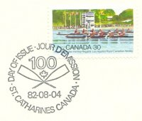 pm can 1982 aug. 4th st. catherines anniversary of royal canadian henley regatta