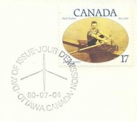 pm can 1980 july 4th ottawa fdc ned hanlan 1x
