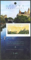 stamp can 2007 may 3rd ottawa booklet cover mi mh 0 340 single sculler