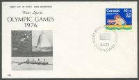fdc can 1975 febr. 5th og montreal with 4 photo illustrartion