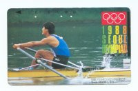 tc jpn 1988 og seoul 1988 single sculler with blue vest