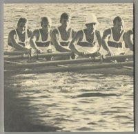 Book MEX 1968 OG Mexico Official Rowing Rules back cover
