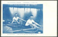 pc bel 1902 daniel clarembaux georges licot bel m2x gold medal winners erc strasbourg 1902