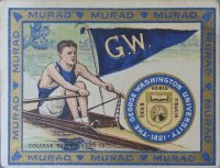 CC USA 1910 Murad Cigarettes College Series 51 75 George Washington University Coll. A
