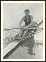 cc ger 1952 kosmos zigarettenbild no. 175 og helsinki j. tjukalov winner of the single sculls