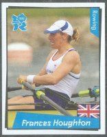 cc gbr 2012 panini london 2012 no. 344 frances hougton gbr