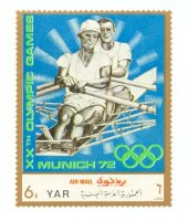 stamp yem 1971 nov. 4th og munich mi 1468 2x sui buergin studach