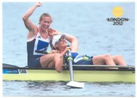 pc sin 2012 og london gold medal winners w2 olympic champions helen glover heather stanning gbr