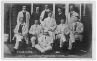 pc gbr 1905 the cambridge crew