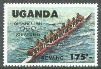 stamp uga 1984 oct. 1st og los angeles mi 400 8