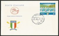 FDC ITA 2018 Dec. 1st ROMA 130th anniversary of the Italian Rowing Federation