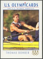 cc usa 1992 u.s. hopefuls no. 56 thomas bohrer silver medal winner og barcelona m4