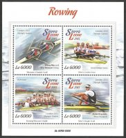 Stamp SLE 2015 gold medal winners OG London 2012 MS