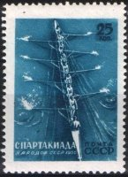 stamp urs 1956 aug. 5th spartakiade moscow mi 1852