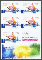stamp aus 2012 og london booklet