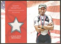 cc usa 2012 topps company u.s. olympic team relic card mary whipple